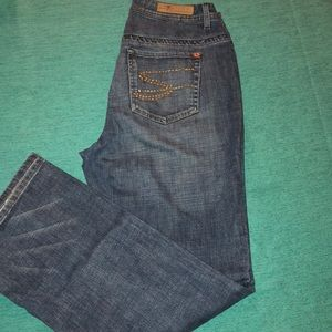 Seven 7 distressed jeans size 14